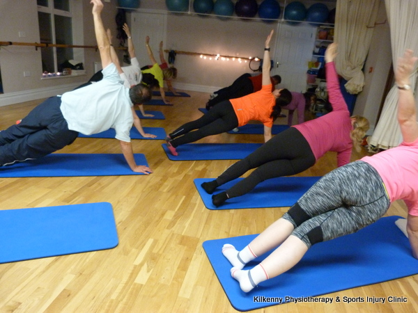 Advanced pilates class in Kilkenny Physiotherapy clinic