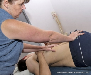 Positioning the patient for a manipulation